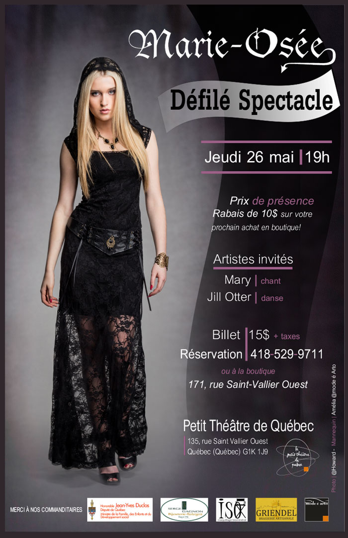 poster defile marie osee 2016 700px