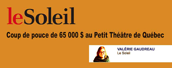 article lesoleil petit theatre quebec