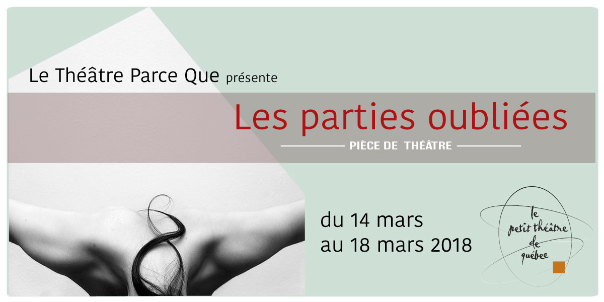 Les parties oubliees theatre